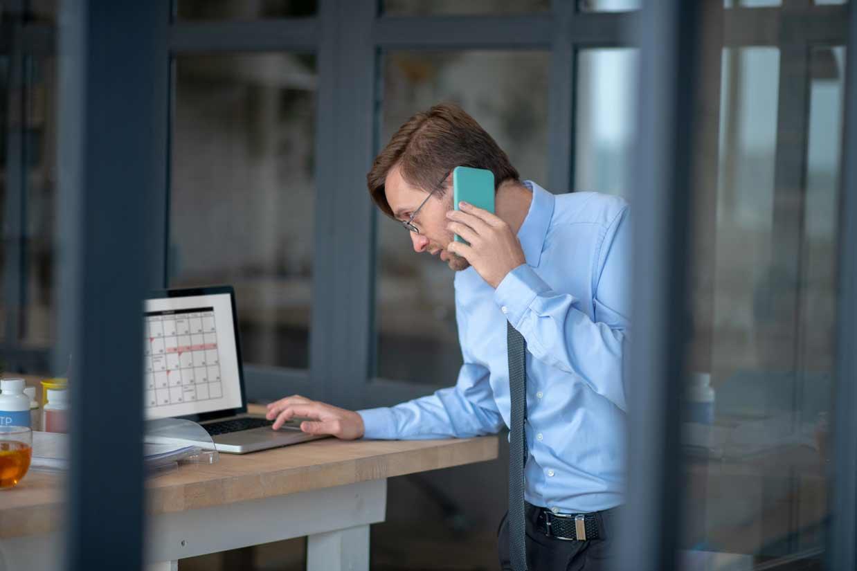 Busy Businessman - FE Exam
